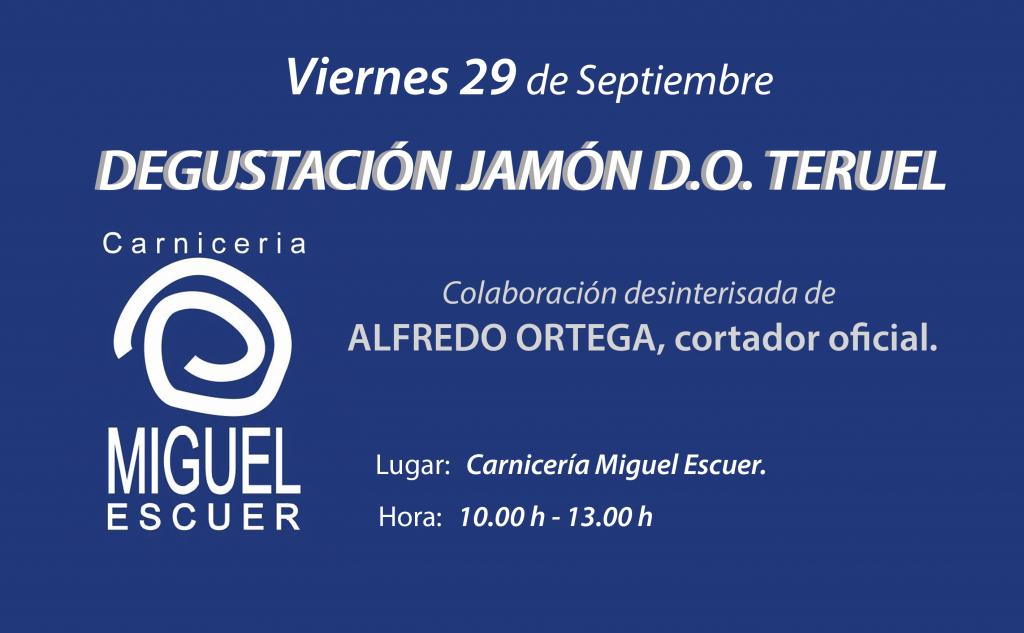 Degustación Jamón DO Teruel