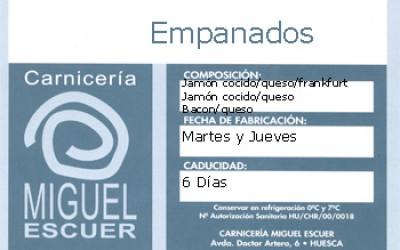 Etiqueta Empanados