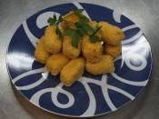 Croquetas de pollo con jamón