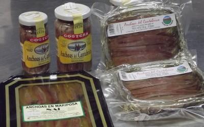 Filete de anchoa en aceite de olvida del cantábrico
